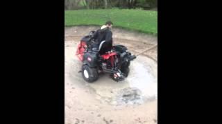 Toro bunker bike pump