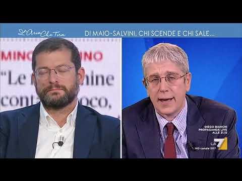 Cacciari vs Romano: 'Mi innervosisci, obbedisci al padrone di turno'