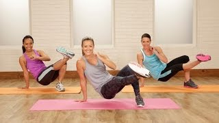 15-Minute No-Excuses Bodyweight Workout | Class FitSugar by POPSUGAR Fitness
