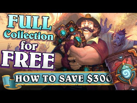 Entire Standard Collection for FREE. How is this possible in Hearthstone? How to get all cards?