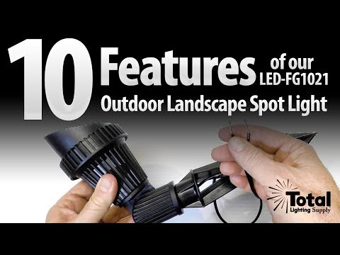 10 Features of our LED-FG1021 Outdoor Landscape Lighting Spot Light