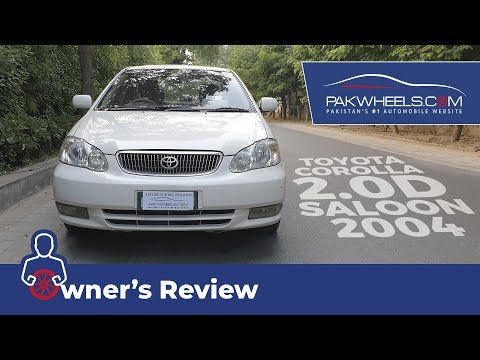Toyota Corolla 2004 2.0D Saloon Owner's Review