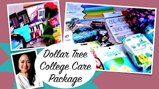 Dollar Tree College Care Package & More
