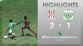 CC CAF : Zanaco FC 2-1 DC Motema Pembe