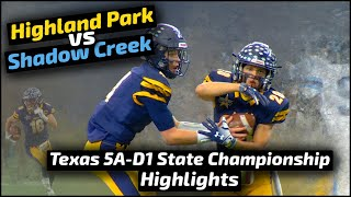 Highland Park vs Alvin Shadow Creek - 2018 Football Highlights - Game of the Week
