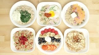 6 Oatmeal Breakfast Bowls That Are Almost Too Pretty To Eat