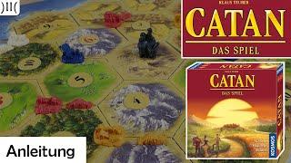 Die Siedler von Catan® (Grundspiel) - Anleitung und Tipps (mit Beispielrunden)