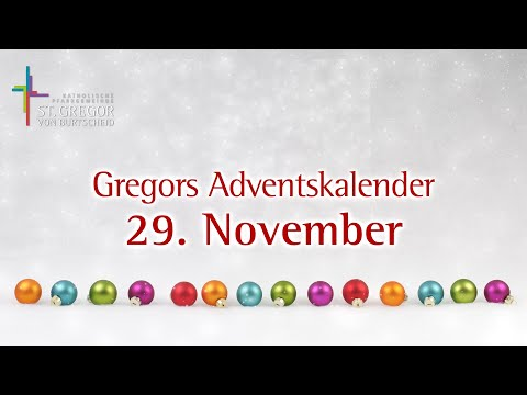 Gregors Adventskalender - 29. November
