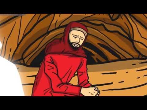 KISAH MUKJIZAT DAN SIRAH NABI MUHAMMAD : ABU BAKAR DI PATUK ULAR DI GUA TSUR
