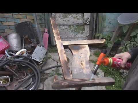 Ремонт скамейки