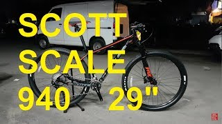 Scott Scale 940 Mtb 29 Inch