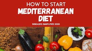 How To Start Mediterranean Diet