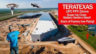 #GigaTexas #TeraTexas #TeslaNews #Cybertruck 4680 Construction Updates - FPV & new Steel Work