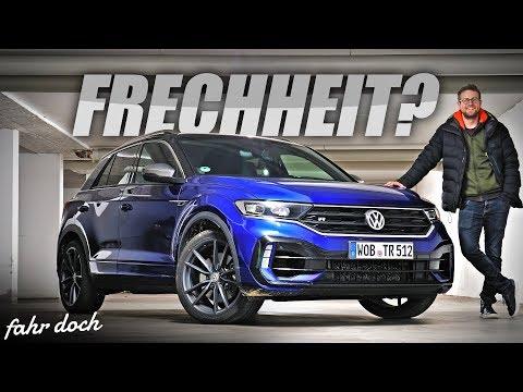 58.700€ für den VW T-ROC R mit 300 PS? Review und Fahrbericht | Fahr doch