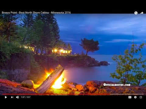 Breezy Point - Best North Shore Cabins - Minnesota 2016