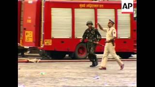 AP Clean Pix, Standoff At Taj Hotel Over, Fires, Police Sot