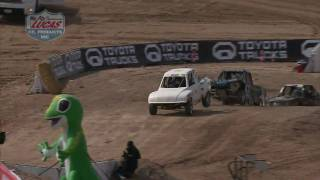 Lucas Oil Off Road Series JR 1 Karts Round 1 2010  Las Vegas NV