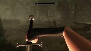 The Elder Scrolls V - Skyrim - отжигающий скелет