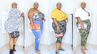 Battle Of The Outfits! (army Pun Intended Lmaoo) // CAMO Lookbook (Plus Size & Curvy)