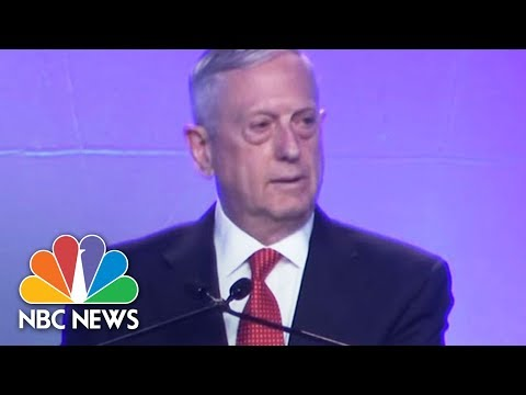 James Mattis On North Korea: 'Military Options Must Be Available'   NBC News