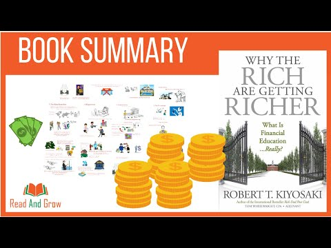 , title : 'Why The Rich Are Getting Richer by Robert Kiyosaki   Animated Summary