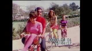 1966 Girls With Garter Belts & Stockings Bicycling