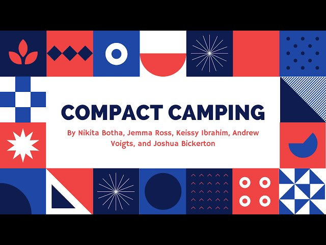 Compact Camping - Group 27