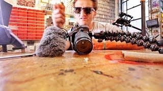 Customize Your Vlogging Camera with a Circular Saw
