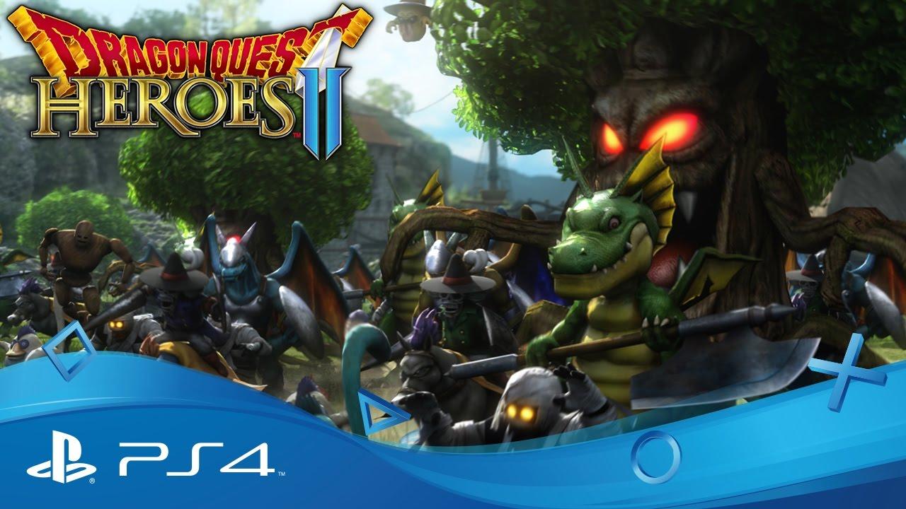 PS4 Action RPG Sequel Dragon Quest Heroes II erscheint am 28. April 2017 in Europa