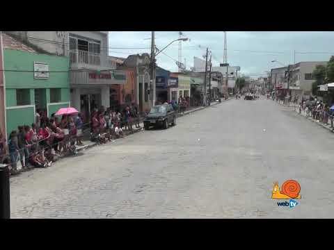 II Encontro de Bandas e Fanfarras em Alagoa Nova PB