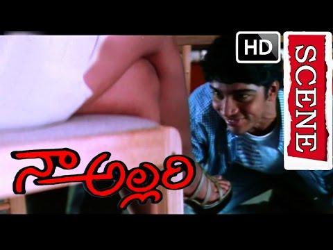 Ruchi slaps Ravi - Naa Allari Full Movie | Allari Naresh | Nikitha | Diya | V9 Videos