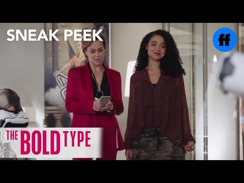 The Bold Type | Season 1 Episode 3 Sneak Peek: Kat Tests VR Goggles At Scarlet | Freeform