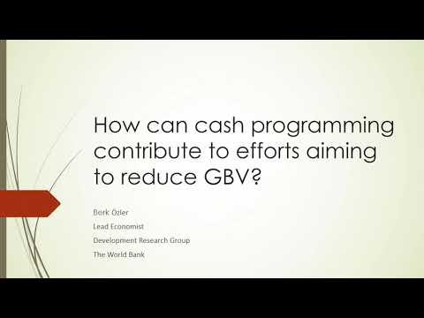 IGWG Addressing GBV Through Cash Transfer Programming Part II Video thumbnail