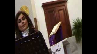 preview picture of video 'Carla Denule incanta con la sua voce in chiesa ,.    // Oschiri'