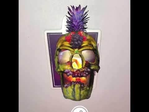 Fruit Skull Cornucopia
