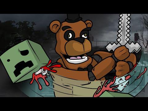 Left 4 Dead 2 Walkthrough - Freddy & Friends vs Minecraft