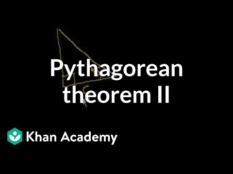 Pythagorean Theorem II | Right Triangles And Trigonometry | Geometry | Khan Academy Mp3