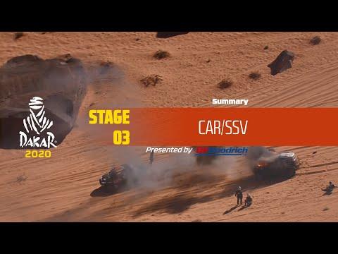 【ダカールラリーハイライト動画】ステージ3 自動車部門のハイライト
