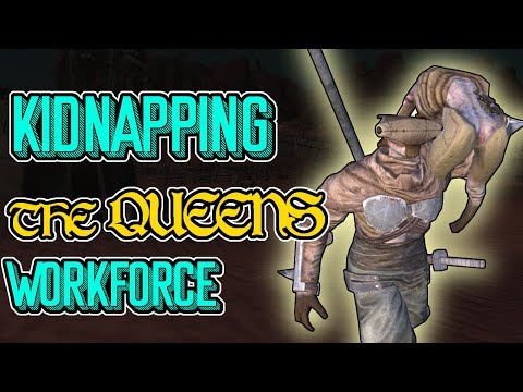 Kenshi: Kidnapping The Queens Workers | Hivers ONLY | Growing The Hive