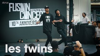 Les Twins  .stance  Showcase At FUSION CONCEPT 2019