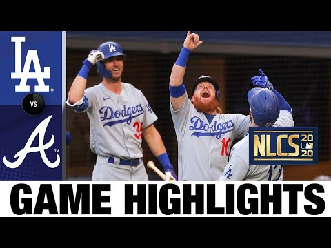 Dodgers cruise to Game 3 win with 11-run 1st inning | Dodgers-Braves Game 3 Highlights 10/14/20