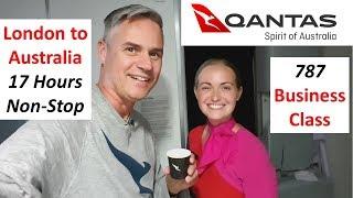 London to Perth - Qantas' longest flight in business class