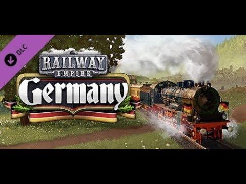 Railway Empire Präsident komplexes Streckennetz - Deutschland DLC