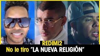 REDIMI2 aclara que NO le tira a la NUEVA RELIGION en GRAVY. Alex Zurdo con DOÑA RELIGION.