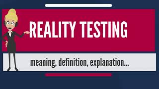 What is reality and example