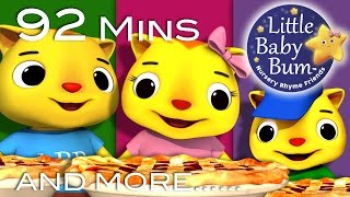 Three Little Kittens | Part 2 | Plus Lots More Nursery Rhymes | 92 Minutes from LittleBabyBum!
