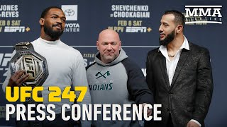 UFC 247: Jones vs. Reyes Press Conference - MMA Fighting