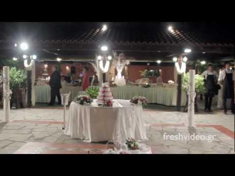 Moments of wedding reception at kiwigarden