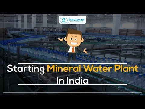 Automatic Turnkey Mineral Water Plant
