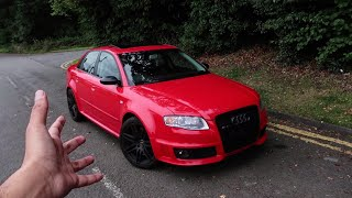 This Audi RS4 B7 is the MOST BRUTAL AUDI I've Experienced!